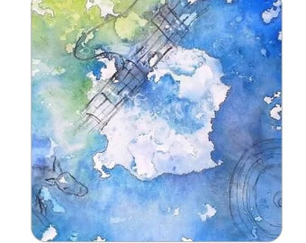 Instrumental Watercolor