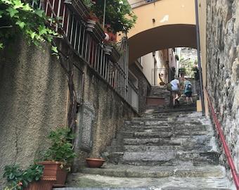 Steps in Como