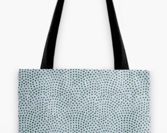 Swimming Swirls Tote Bag