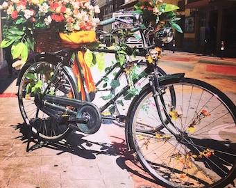 Bike in Otavalo