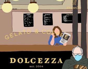 Bernie at Dolcezza