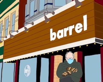 Bernie at Barrel