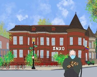 Bernie at Anxo