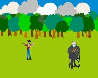 Bernine & Waldo in the Woods