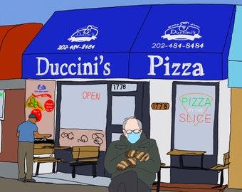 Bernie at Duccini's
