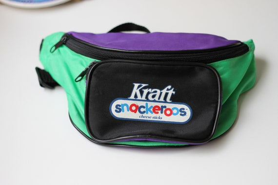 90s Kraft Snackeroos Fanny Pack, Cheese Sticks Ad