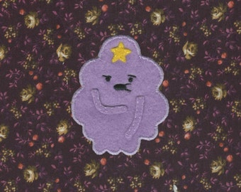 Lumpy Space Princess Handmade Patch