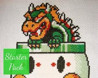 Stitched Pixels Embr