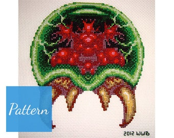 Metroid Cross Stitch Pattern