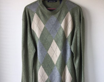 526a7754e Sage green sweater