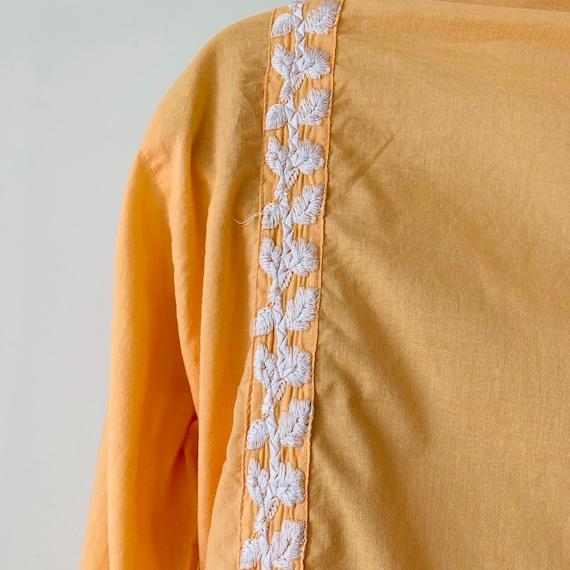 Embroidered tunic India kurta kaftan dress Intric… - image 6