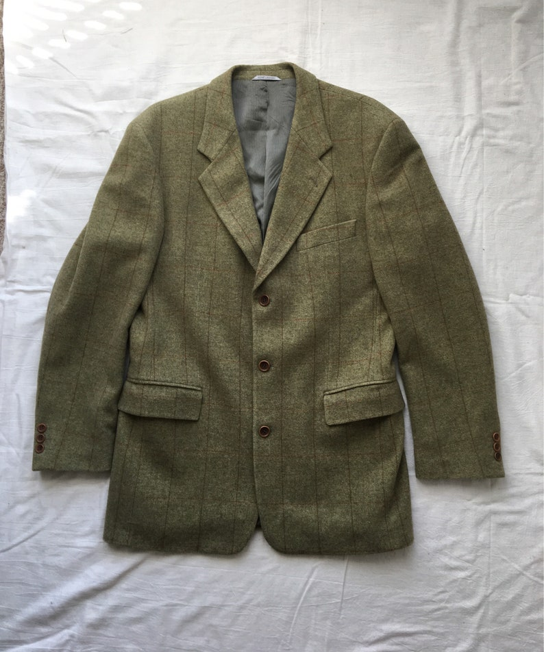 f49f86a56 Vintage Rene Lezard jacket Tailored Cashmere Wool blend | Etsy