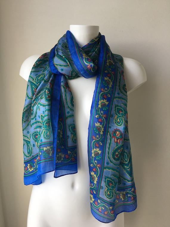 90 s impression cadeau de pure grand châle Boho Inde foulard   Etsy 7d693dd5978