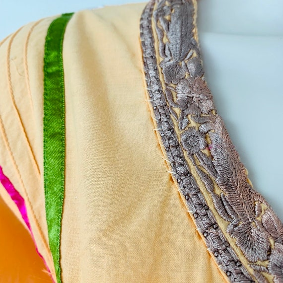 Embroidered tunic India kurta kaftan dress Intric… - image 7