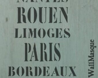 Signboard Stencil