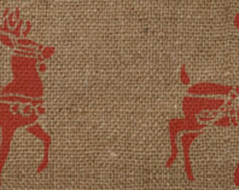 Deer Border Stencil - Awesome on Burlap Ribbon!