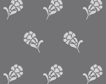 Farmhouse Floral Stencil 1