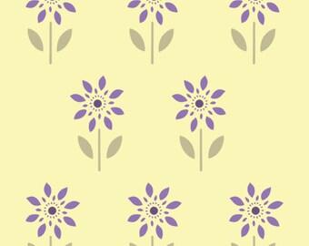 Farmhouse Floral Stencil 2