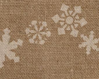 Snowflake Border Stencil - Awesome on Burlap Ribbon!