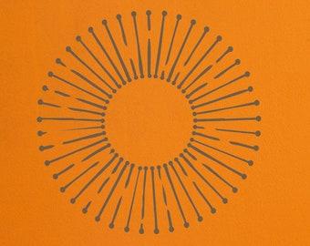 Sunray Stencil 1