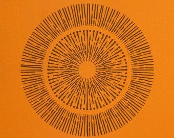Sunray Stencil 2