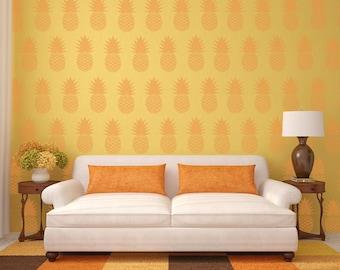 Allover Pineapple Stencil