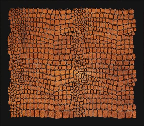Alligator Skin Stencil