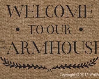 Welcome to our Farmhouse Stencil