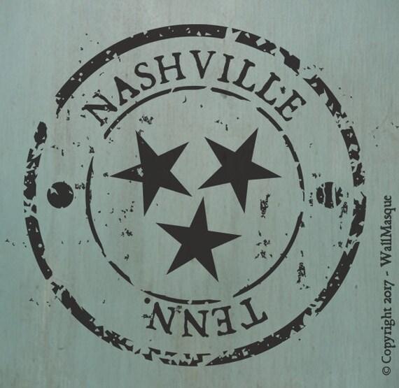 Nashville Stamp Stencil