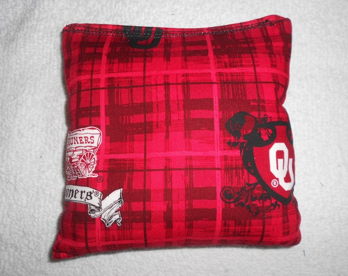 University of Oklahoma  Corn hole Bags