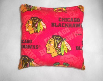 Blackhawks Corn hole Bags