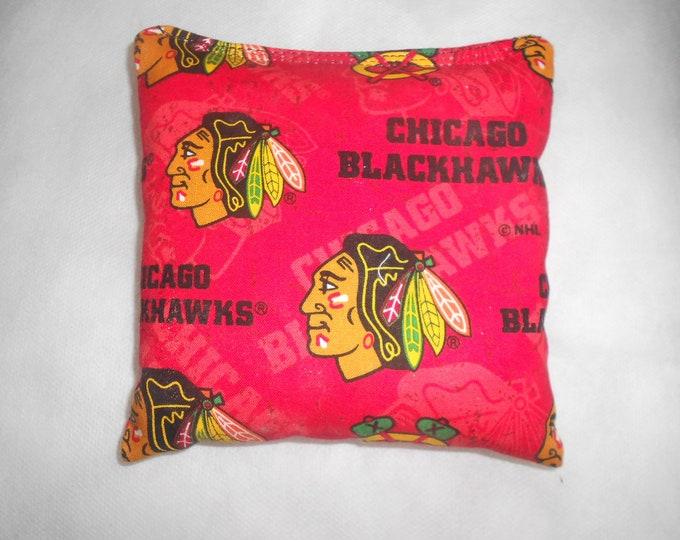 Blackhawks Corn hole Bags