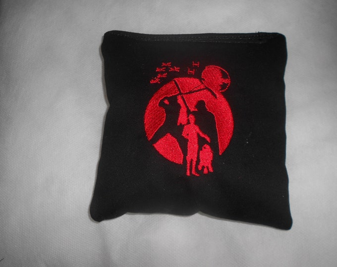 Black and Red Star Wars  Embroidered  Corn hole Bags