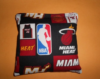 Miami Heat  Corn hole Bags