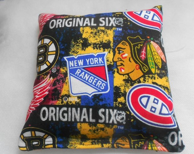 Orginal Six Hockey Corn hole Bags