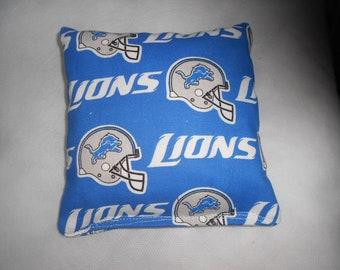Detroit Lion's Corn hole Bags
