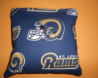 Rams Corn hole Bags