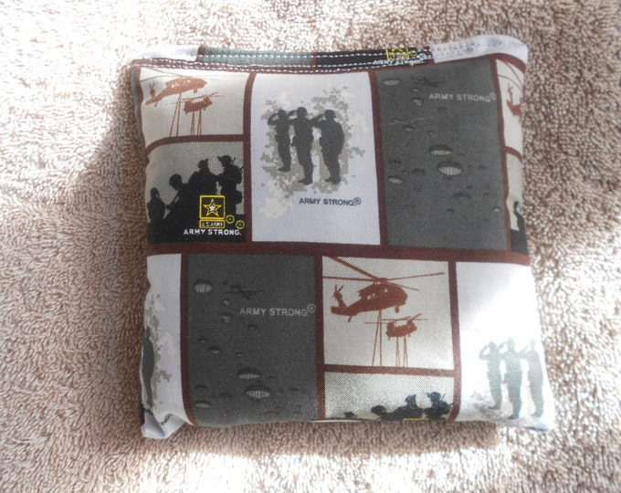 Grey Army  Corn hole Bags