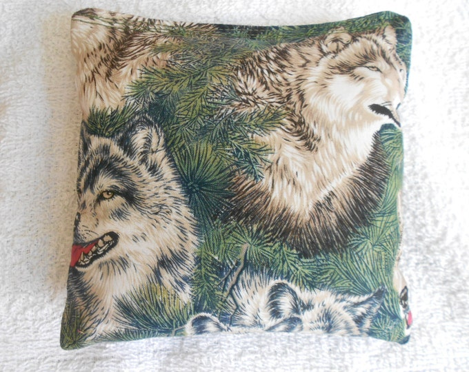 Green Wolves  Corn hole Bags