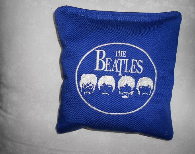 Beatles Embroidered  Corn hole Bags
