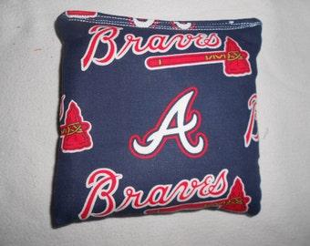 Alanta Braves  Corn hole Bags