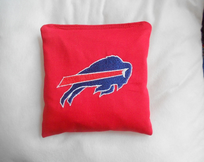 Embroidered Buffalo Bills Corn hole Bags