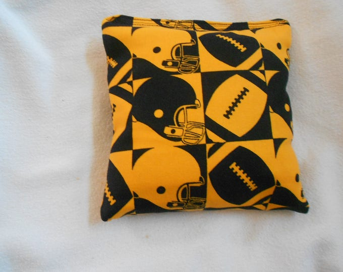 Footballs and Helmets Corn hole Bags