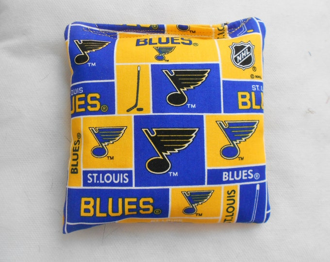 St Louis Blues Hockey Corn hole Bags