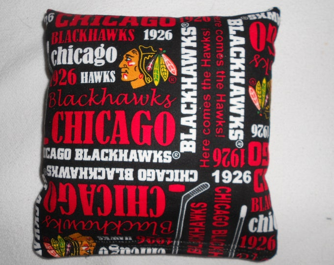 Chicago Blackhawks 1926  Corn hole Bags