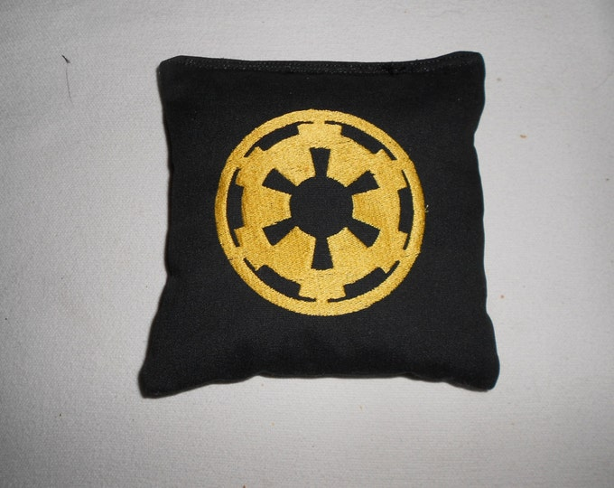 Star Wars Imperial  Embroidered  Corn hole Bags