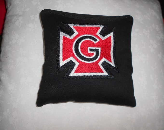 Grinnell College Embroidered Corn hole Bags
