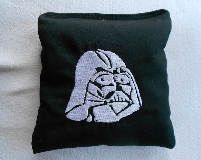Embroidered Darth Vadar Corn hole Bags
