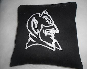 Duke University Embroidered Corn hole Bags