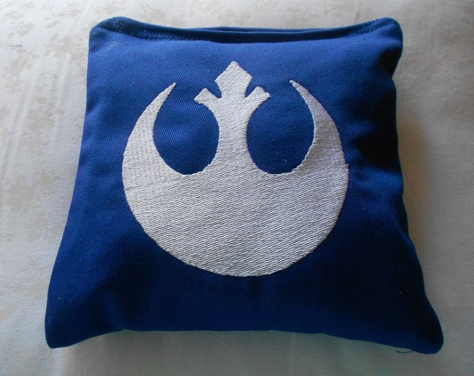 Rebel Star Wars  Embroidered  Corn hole Bags